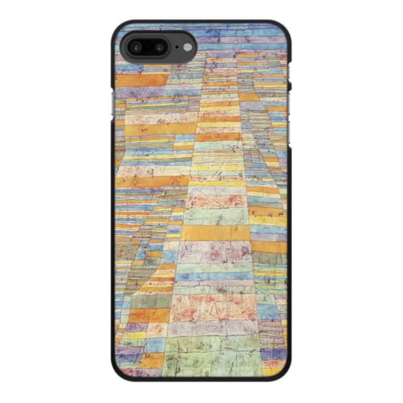 Чехол для iPhone 8 Plus, объёмная печать Printio Шоссе и переулки (пауль клее) чехол для iphone 6 глянцевый printio будущее пауль клее