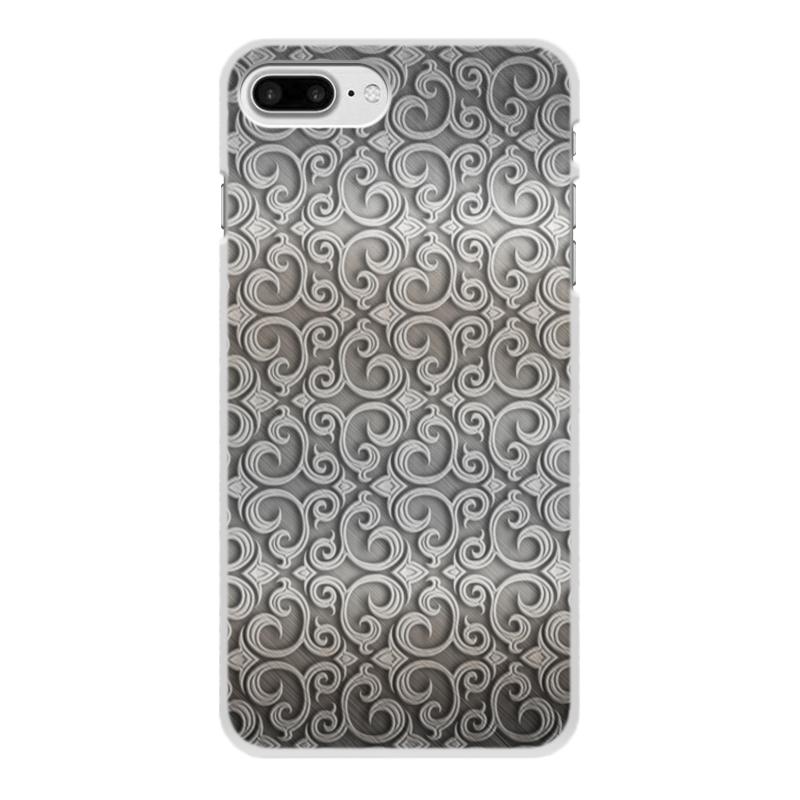 Чехол для iPhone 8 Plus, объёмная печать Printio Узоры чехол для iphone 8 plus объёмная печать printio узоры