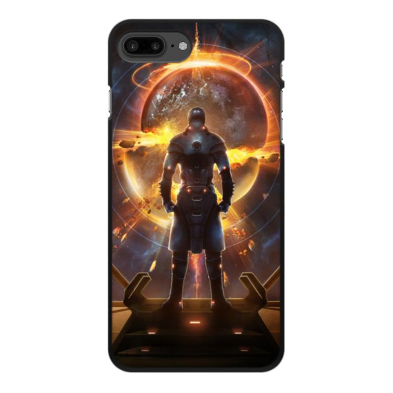 лучшая цена Чехол для iPhone 8 Plus, объёмная печать Printio Starpoint gemini warlords