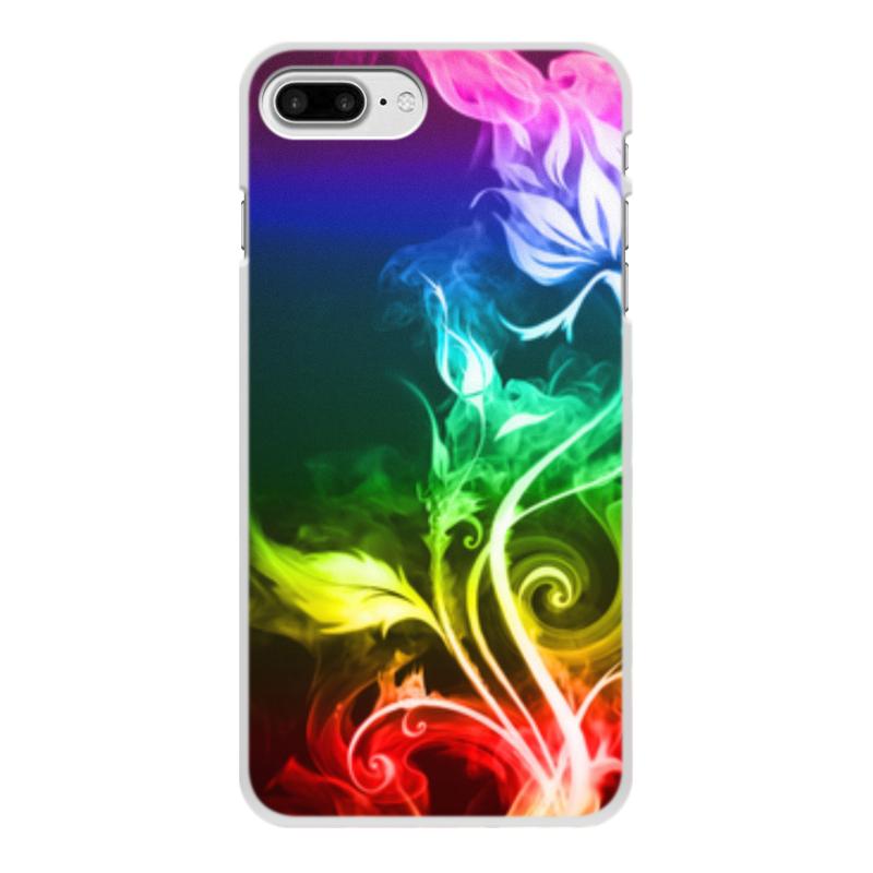 Чехол для iPhone 8 Plus, объёмная печать Printio Абстракция чехол для iphone 6 объёмная печать printio разноцветная абстракция