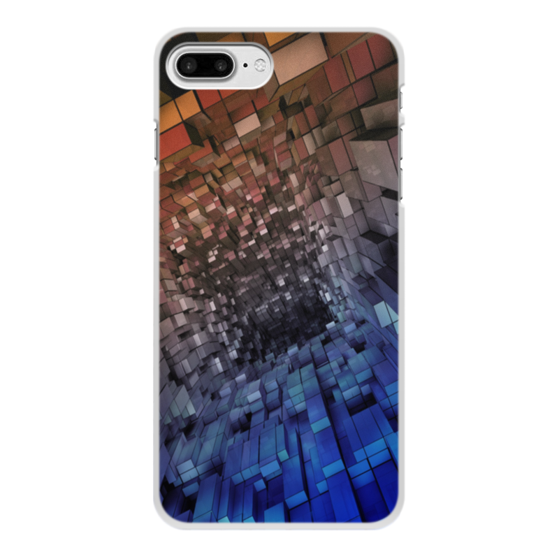 Чехол для iPhone 8 Plus, объёмная печать Printio Абстракция чехол для iphone 8 plus объёмная печать printio абстракция