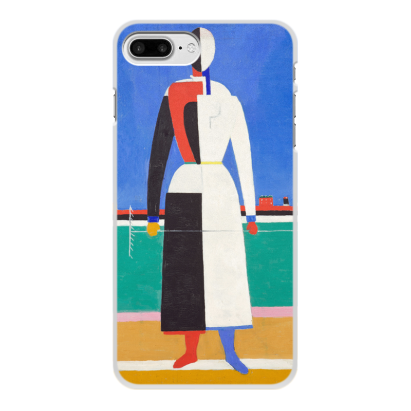 лучшая цена Printio Женщина с граблями (картина малевича)