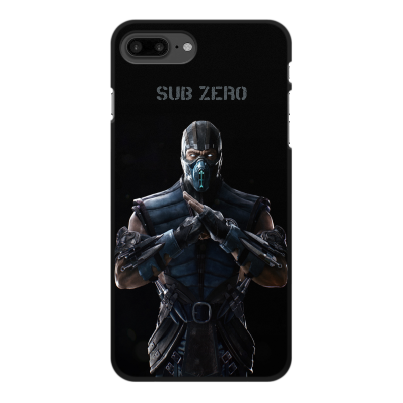 Чехол для iPhone 8 Plus, объёмная печать Printio Mortal kombat x (sub-zero) dls q sub 8