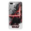 "Чехол для iPhone 8 Plus, объёмная печать ""Звёздные войны"" - фантастика, star wars, звёздные войны, звёздные войны последний джедай, star wars the last jedi"