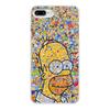 """Чехол для iPhone 8 Plus, объёмная печать """"Симпсоны"""" - гомер, симпсоны, гомер симпсон, the simpsons, gomer"""