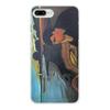 """Чехол для iPhone 8 Plus, объёмная печать """"Меланхолия (Эдвард Мунк)"""" - картина, живопись, интроверт, мунк"""