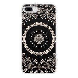 """Чехол для iPhone 8 Plus, объёмная печать """"Барабан"""" - музыка, подарок, женщине, мужчине, мандала"""