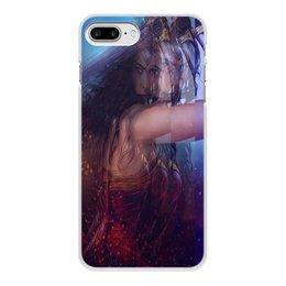 """Чехол для iPhone 8 Plus, объёмная печать """"Чудо Женщина. """" - игры, кино, чехол, женский, акссесуар"""