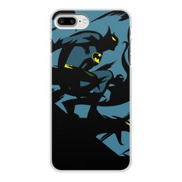 """Чехол для iPhone 8 Plus, объёмная печать """"Бэтмен"""" - dc comics, batman, бэтмен, комиксы"""
