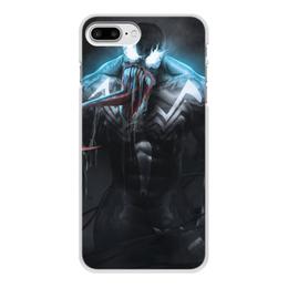 """Чехол для iPhone 8 Plus, объёмная печать """"Веном (Venom)"""" - марвел, комиксы, симбиот, comics"""