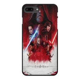 """Чехол для iPhone 8 Plus, объёмная печать """"Звёздные войны"""" - фантастика, фильм, звёздные войны, star wars"""