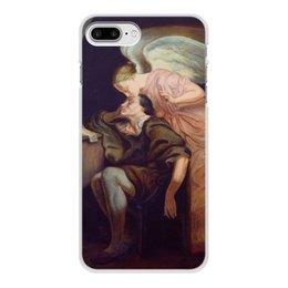 """Чехол для iPhone 8 Plus, объёмная печать """"Поцелуй Музы (Поль Сезанн)"""" - картина, сезанн"""