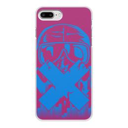 """Чехол для iPhone 8 Plus, объёмная печать """"Mute """" - р6"""