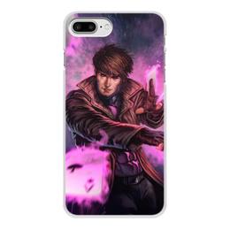 """Чехол для iPhone 8 Plus, объёмная печать """"Гамбит"""" - марвел, комиксы, gambit, comics"""