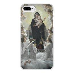 """Чехол для iPhone 8 Plus, объёмная печать """"La Vierge aux anges (картина Вильяма Бугро)"""" - картина, академизм, живопись, христианство, бугро"""