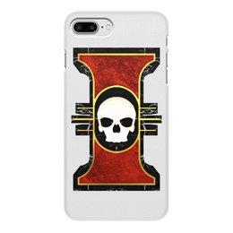 """Чехол для iPhone 8 Plus, объёмная печать """"Инсигния"""" - warhammer 40k, инсигния, инквизиция, терра, ордо кустодум"""
