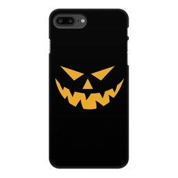 """Чехол для iPhone 8 Plus, объёмная печать """"Хэллоуин"""" - праздник, хэллоуин, страх, ужас, тыква"""
