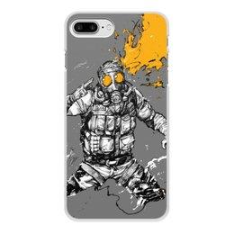 """Чехол для iPhone 8 Plus, объёмная печать """"Smoke"""" - р6"""