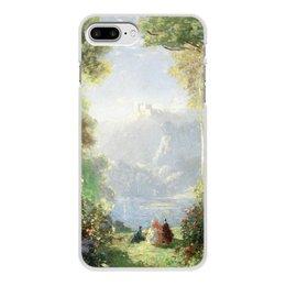 "Чехол для iPhone 8 Plus, объёмная печать ""Дворец грёз (Томас Эдвин Мостин)"" - картина, живопись, мостин, романтизм"