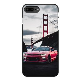 """Чехол для iPhone 8 Plus, объёмная печать """"Машина"""" - машина"""