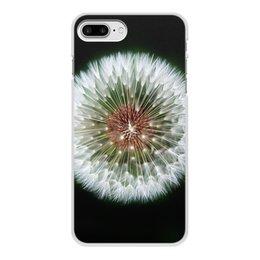 """Чехол для iPhone 8 Plus, объёмная печать """"Лето!"""" - лето, цветы, фрукты, одуванчик, киви"""