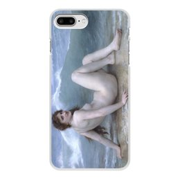 "Чехол для iPhone 8 Plus, объёмная печать ""Волна (картина Бугро)"" - картина, академизм, живопись, ню, бугро"
