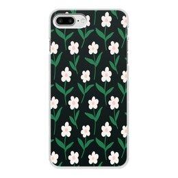 """Чехол для iPhone 8 Plus, объёмная печать """"ромашки"""" - лето, цветы, весна, ромашки, цветочки"""