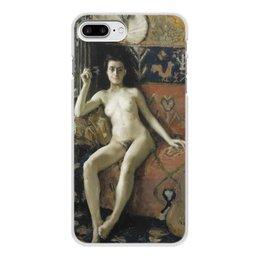 "Чехол для iPhone 8 Plus, объёмная печать ""Без маски (Аксели Галлен-Каллела)"" - картина, реализм, живопись, ню, галлен-каллела"