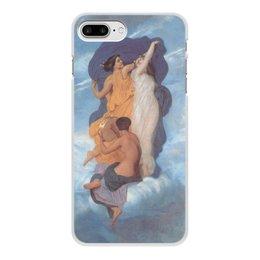 """Чехол для iPhone 8 Plus, объёмная печать """"Танец (картина Вильяма Бугро)"""" - картина, академизм, живопись, бугро"""