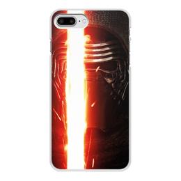 """Чехол для iPhone 8 Plus, объёмная печать """"Звездные войны - Кайло Рен"""" - кино, фантастика, star wars, звездные войны, дарт вейдер"""