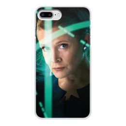 """Чехол для iPhone 8 Plus, объёмная печать """"Звездные войны - Лея"""" - кино, фантастика, star wars, звездные войны, дарт вейдер"""