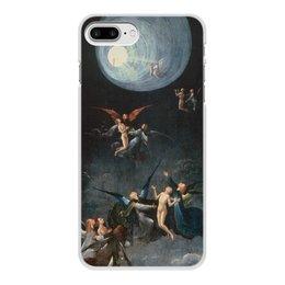 """Чехол для iPhone 8 Plus, объёмная печать """"Блаженные и проклятые (Восхождение в эмпирей)"""" - картина, живопись, босх"""