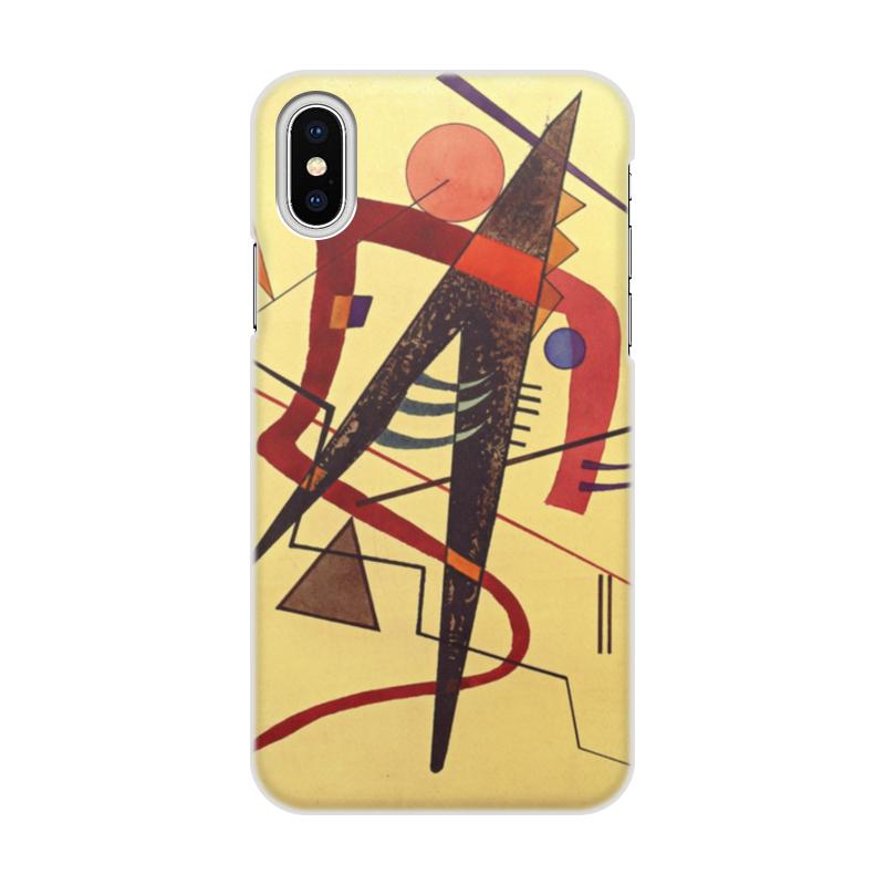 Чехол для iPhone X объёмная печать Printio Тепло пауль клее