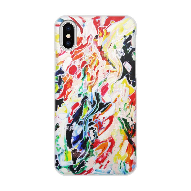 Чехол для iPhone X/XS, объёмная печать Printio Чехол мы iphone x