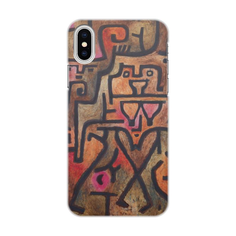 Чехол для iPhone X, объёмная печать Printio Лесные ведьмы (пауль клее) чехол для iphone 6 глянцевый printio будущее пауль клее