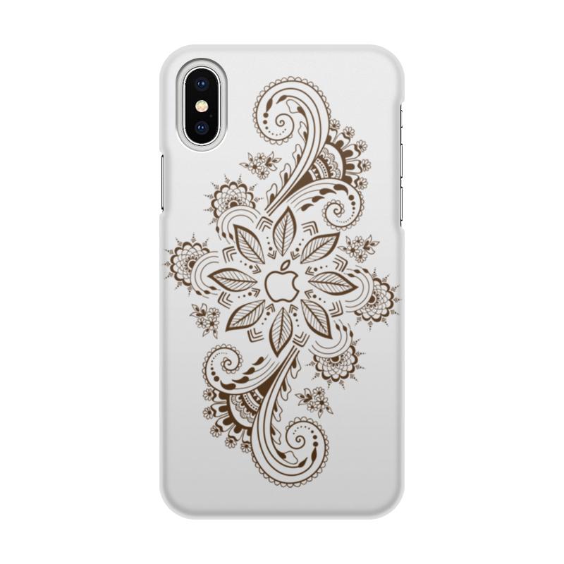 Чехол для iPhone X/XS, объёмная печать Printio Mehdi чехол для iphone x xs объёмная печать printio гомер