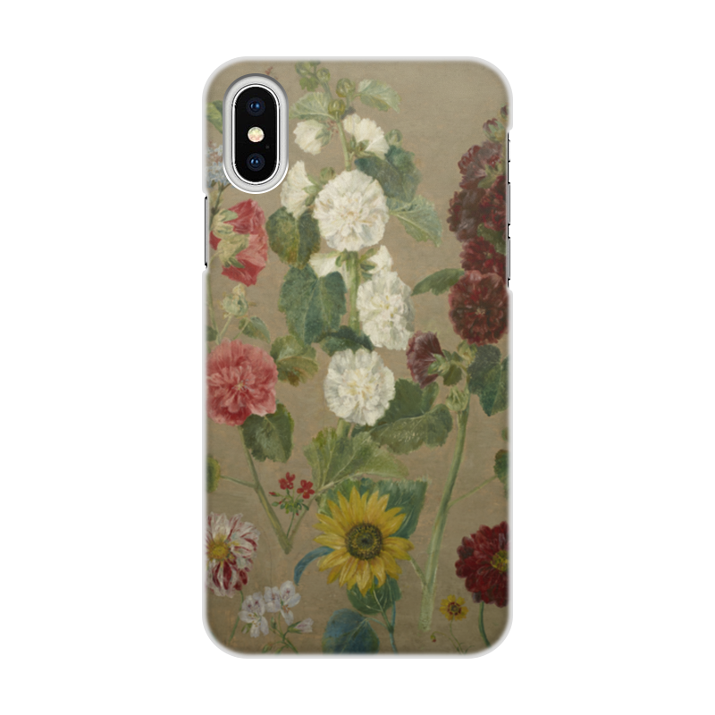 Чехол для iPhone X/XS, объёмная печать Printio Цветы (эжен делакруа) чехол для iphone x xs объёмная печать printio цветы
