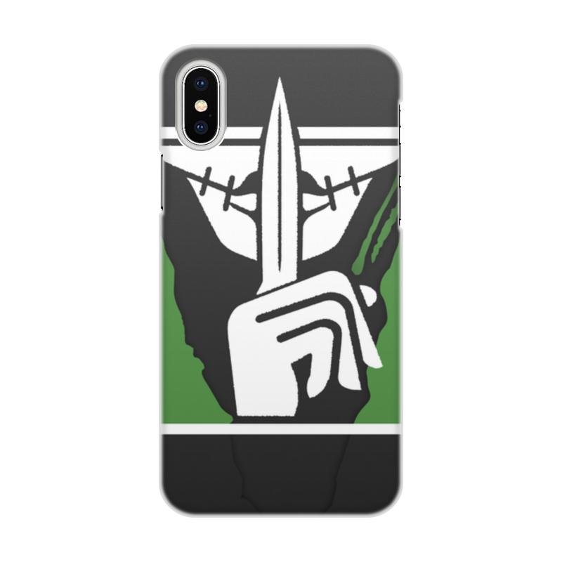 Чехол для iPhone X, объёмная печать Printio Caveira чехол для iphone 7 глянцевый printio альтрон мстители