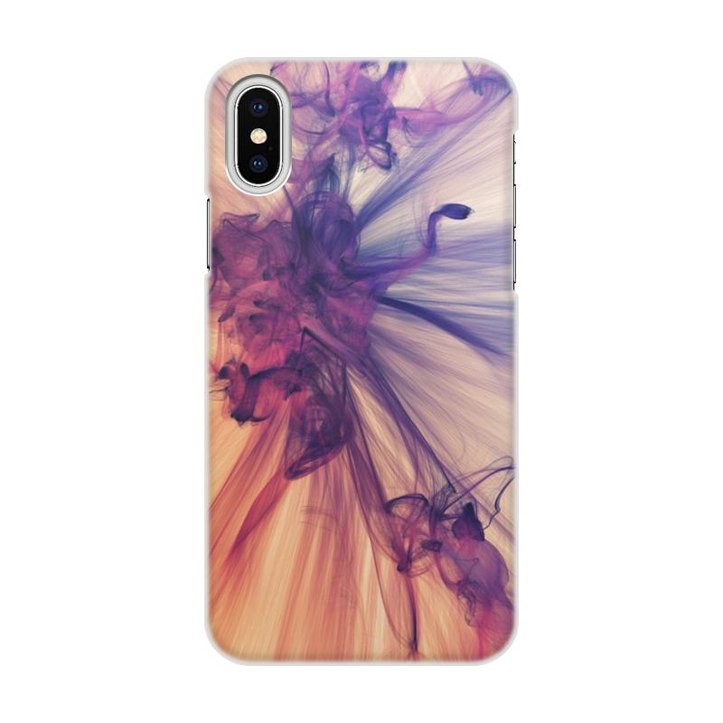 лучшая цена Чехол для iPhone X/XS, объёмная печать Printio Art two