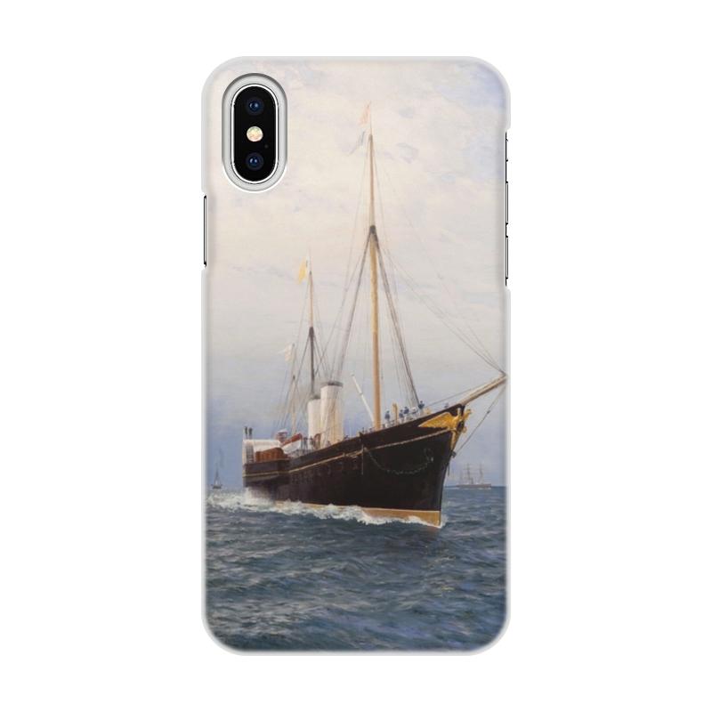 Чехол для iPhone X/XS, объёмная печать Printio Императорская яхта «держава» (лев лагорио) кружка printio императорская