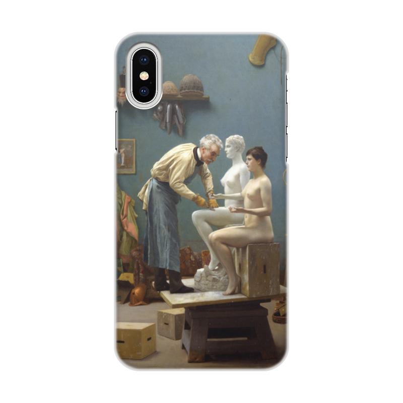 Printio Модель скульптора (жан-леон жером) чехол для iphone 5 глянцевый с полной запечаткой printio наблюдающий тигр жан леон жером