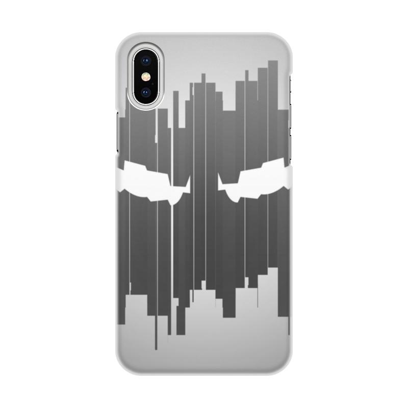Чехол для iPhone X, объёмная печать Printio Vigil чехол для iphone interstep для iphone x soft t metal adv красный