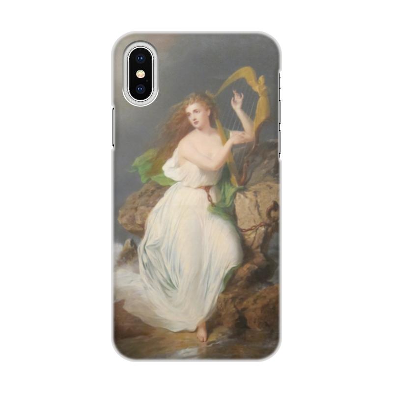 Чехол для iPhone X/XS, объёмная печать Printio Арфа эрин (картина томаса бьюкенена рида) 1605 картина сваровски медьведь символ россии малый