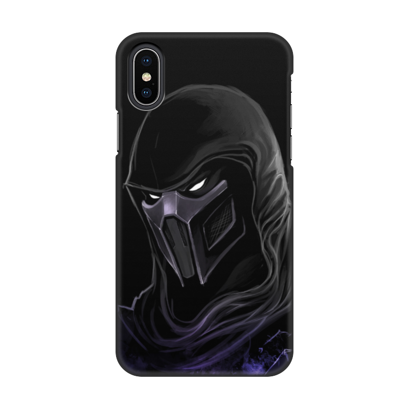 Чехол для iPhone X, объёмная печать Printio Mortal kombat (noob saibot) orion soft touch 300 140 x 200