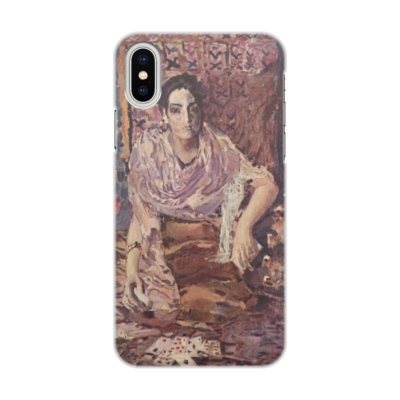 Printio Гадалка (михаил врубель) чехол для iphone x xs объёмная печать printio святой михаил взвешивает души