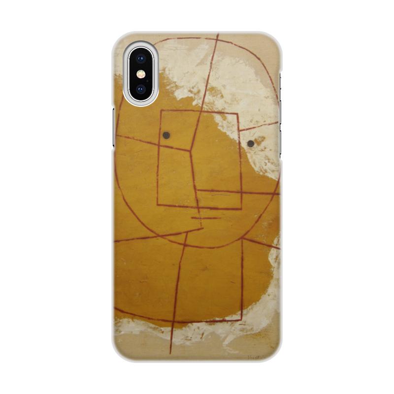 Чехол для iPhone X объёмная печать Printio Тот кто понимает пауль клее