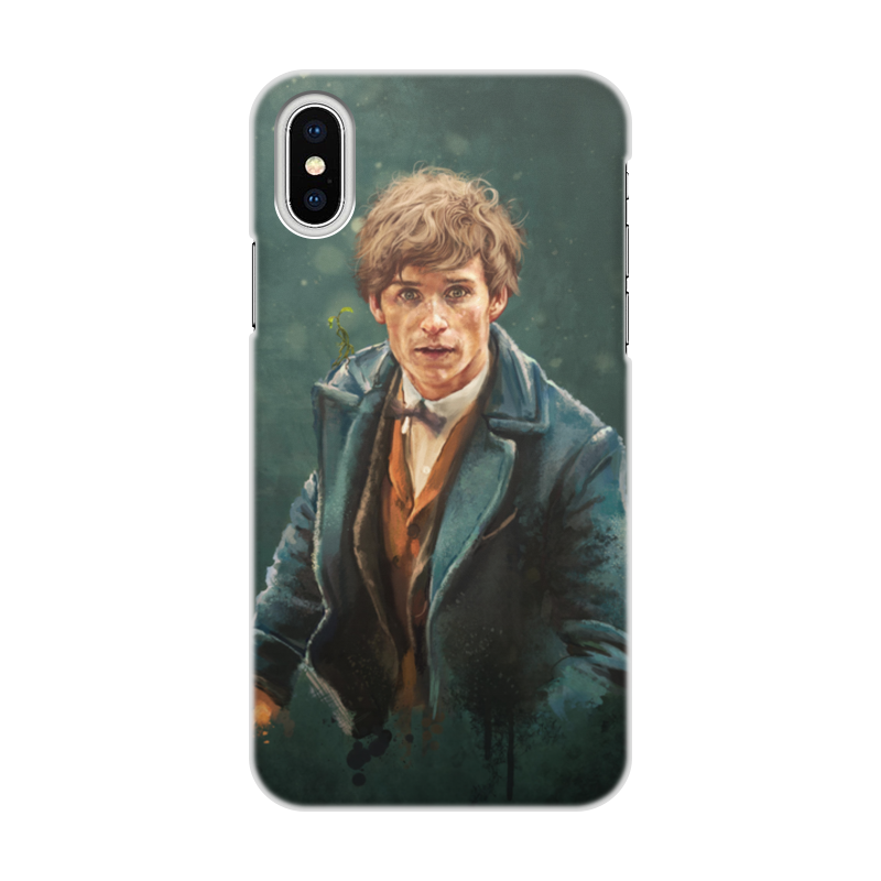 Чехол для iPhone X/XS, объёмная печать Printio Ньют саламандер чехол для iphone x sbs christmas cover texmasipxwr