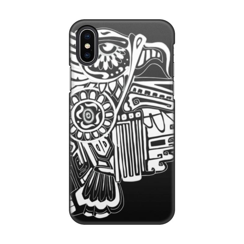 Чехол для iPhone X, объёмная печать Printio Феникс чехол для iphone 7 глянцевый printio альтрон мстители