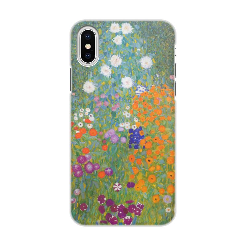 Printio Цветочный сад (густав климт) чехол для iphone x xs объёмная печать printio древо жизни густав климт