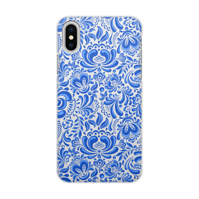 Чехол для iPhone X, объёмная печать Printio Узоры чехол для iphone 7 глянцевый printio deadpool family